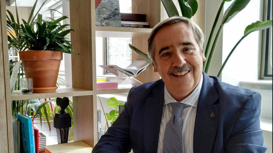 Fernando Mugarza, director de Desarrollo Corporativo y Comunicación de la Fundación IDIS