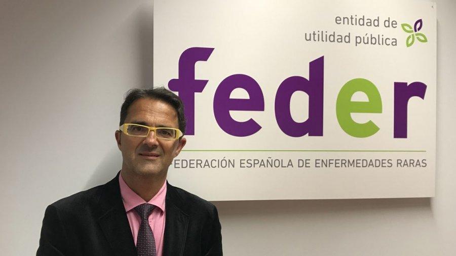 Juan Carrión, presidente de FEDER.