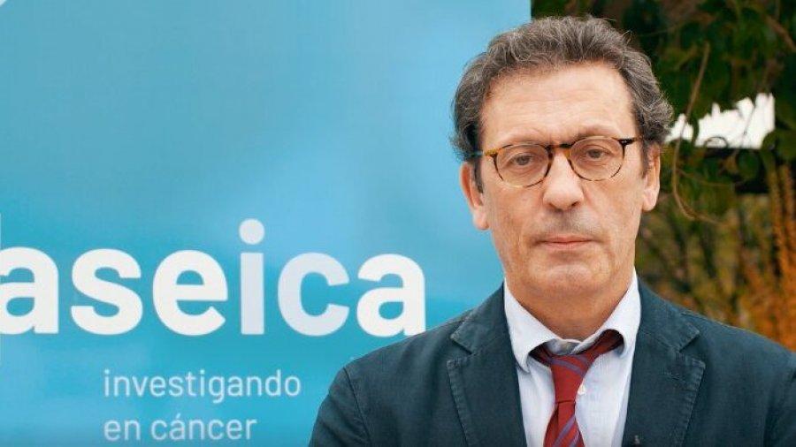 Luis Paz-Ares, presidente de la Asociación Española de Investigación sobre el Cáncer (ASEICA).