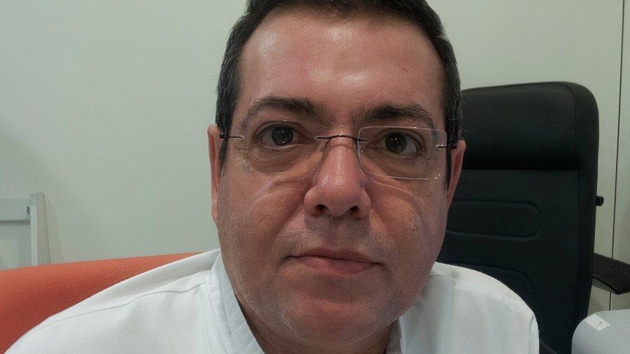 Jordi Giner, enfermero del servicio de Neumología y Alergia del Hospital de la Santa Creu i Sant Pau.