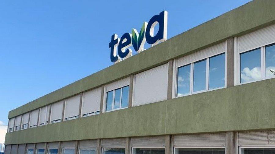Planta de Teva en Zaragoza