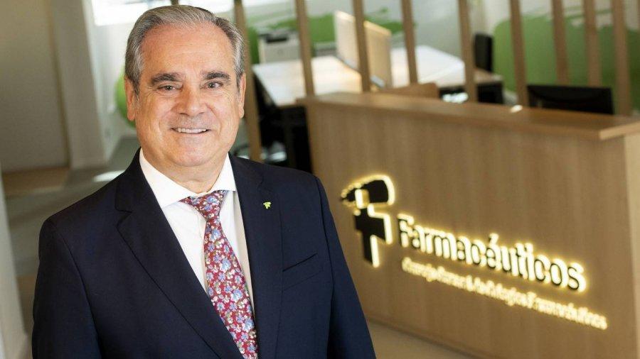 Jesús Aguilar, presidente del Consejo General de Colegios Farmacéuticos