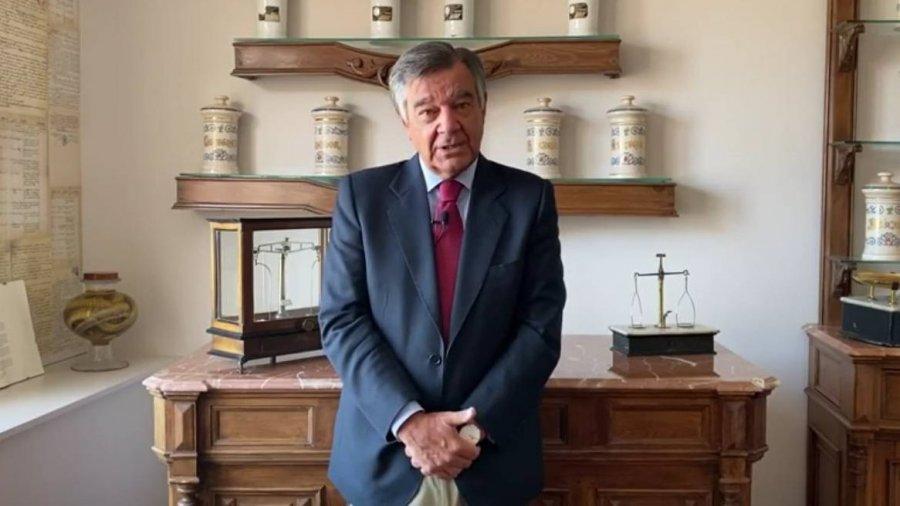 Luis González Díez, presidente del Colegio Oficial de Farmacéuticos de Madrid (COFM).