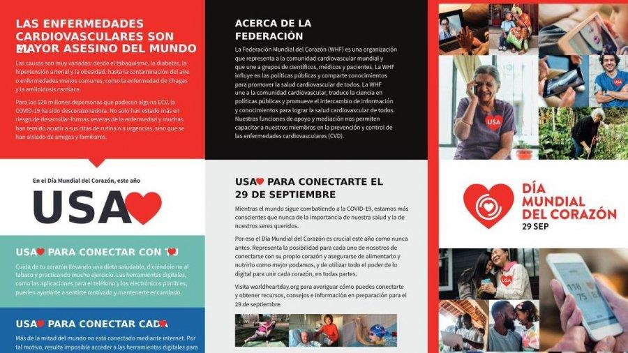 Campaña por el Día Mundial del Corazón
