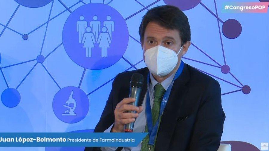 Presidente de Farmaindustria, Juan López-Belmonte
