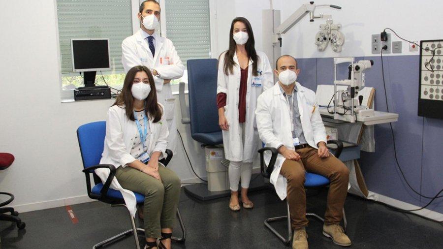 Oftalmólogos del Hospital Clínico San Carlos