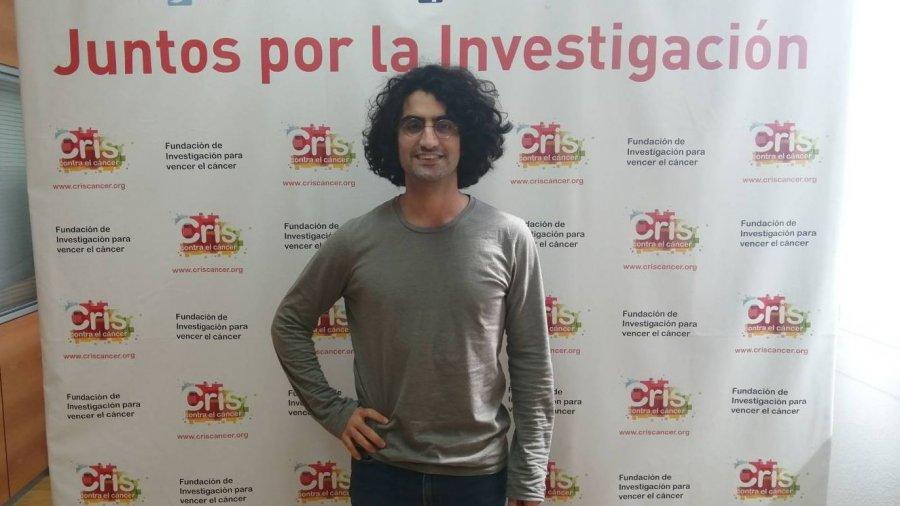 Jesús Sánchez, director de proyectos de Cris contra el cáncer.
