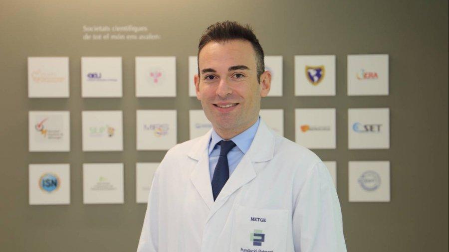 Dr. Angelo Territo, adjunto de la Unidad de Urología Oncológica y Trasplante Renal del Servicio de Urología de la Fundació Puigvert